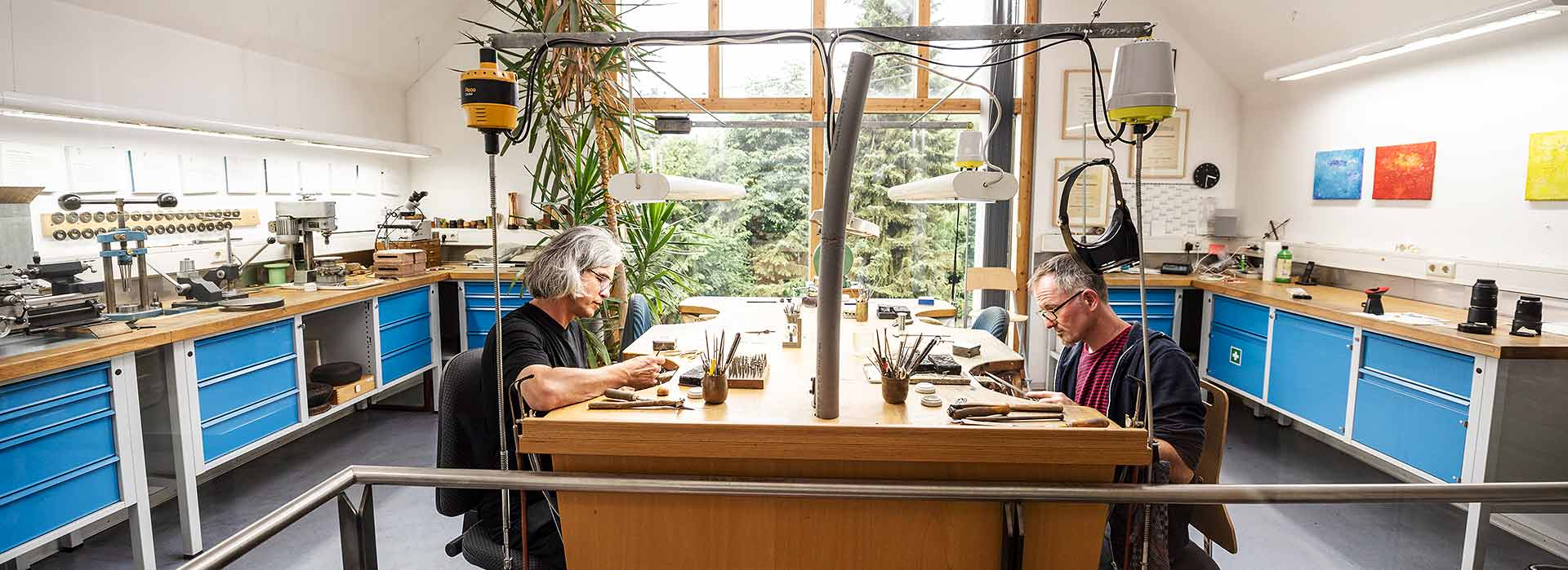 Einblicke in unsere Gold- und Silbersschmiede im Westerwald